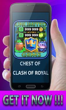 Gems Of Clash Of Royal 💎 apk screenshot
