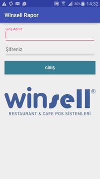 Winsell Adisyon Raporlama poster