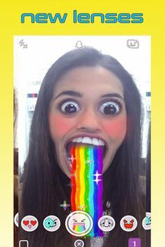 Lenses Snapchat Tips poster