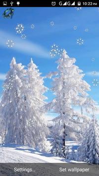 Snow Winter Live Wallpaper apk screenshot