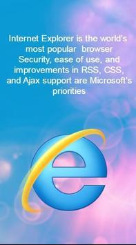 Internet Explorer Faster poster