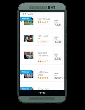 Hotels of Bangladesh screenshot 2