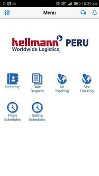 Hellmann Peru poster