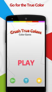 Crush True Colors - Color Game poster