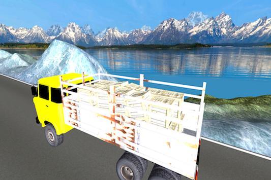 Truck Driver 3D Hill Station apk screenshot
