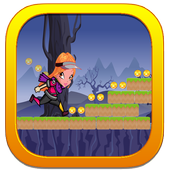 Adventure winx running icon