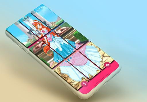 Winx princesses puzzle screenshot 3
