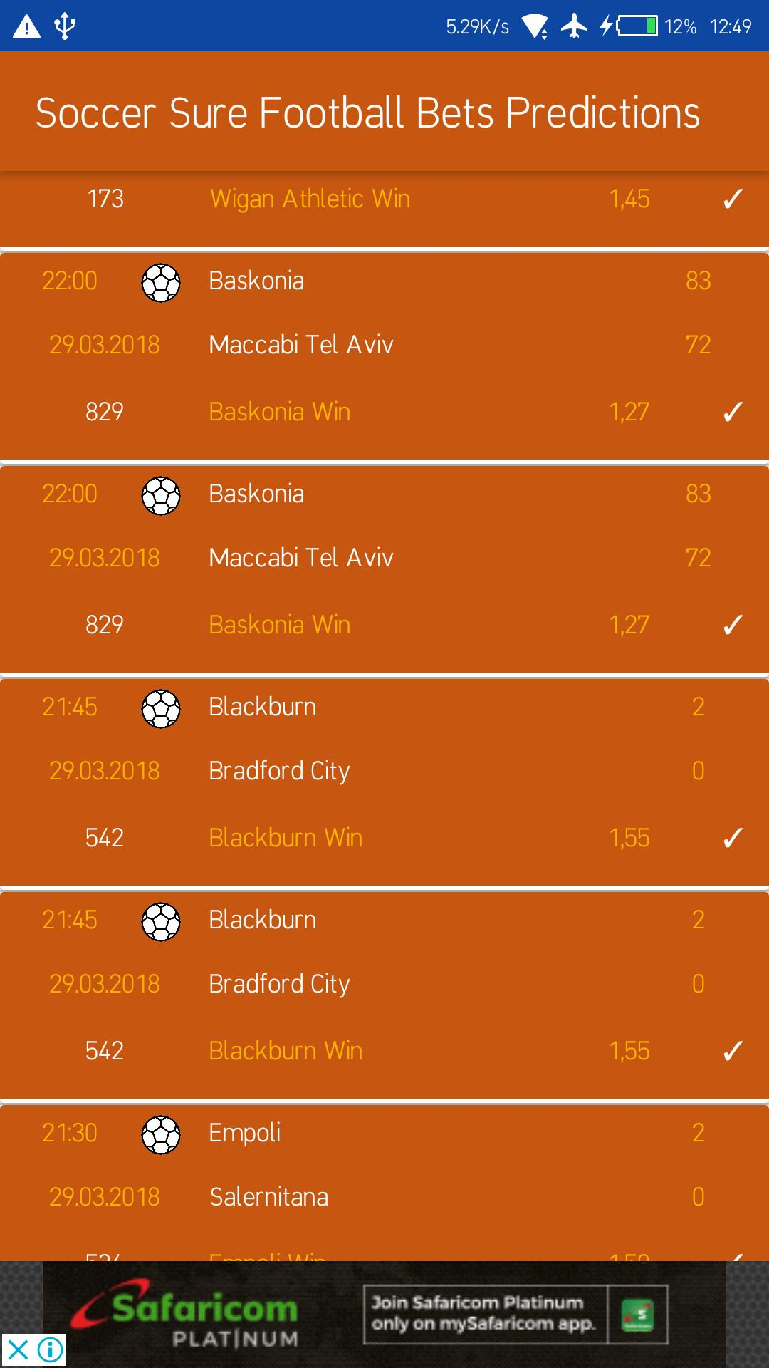 Soccer Sure Football Bets Predictions for Android - APK Download