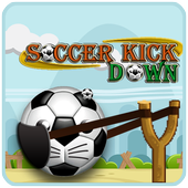 Soccer Kick - Knock Down icon