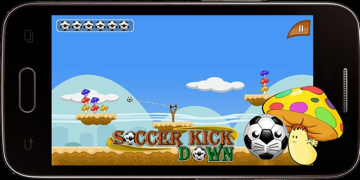 Soccer Kick - Knock Down apk screenshot
