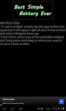 Best Simple Battery Widget screenshot 2