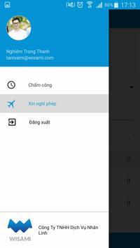 WISAMI - Chấm công & xin nghỉ phép trực tuyến screenshot 3