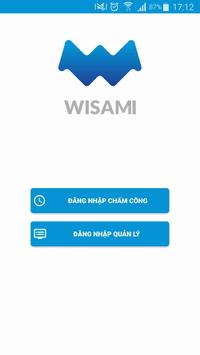 WISAMI - Chấm công & xin nghỉ phép trực tuyến poster
