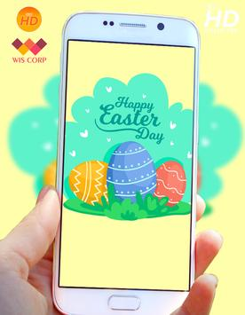 Happy Easter Wallpaper poster