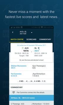 Live Cricket Scores, Results - Wisden India apk screenshot