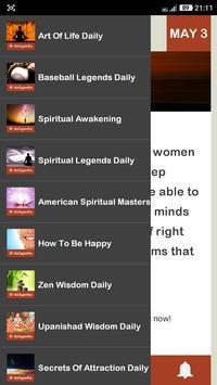 Wisdom Of A Yogi Daily apk screenshot