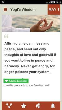 Wisdom Of A Yogi Daily screenshot 7