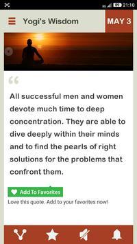 Wisdom Of A Yogi Daily screenshot 1