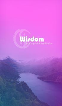 Wisdom Meditation poster