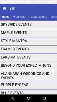 Your Event Planner apk screenshot