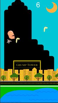 Trump the Grump poster
