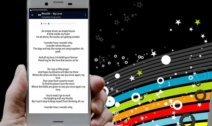 Westlife My Love Song Lyrics for Android - APK Download