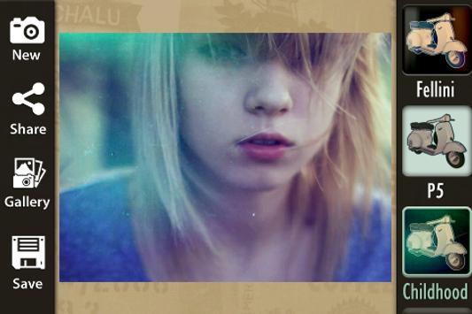 Retro Photo Camera apk screenshot