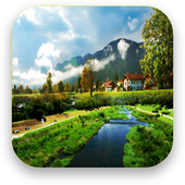 HD landscape wallpaper icon