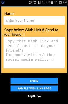 Make A Wish apk screenshot
