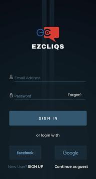 EZCLIQS screenshot 1