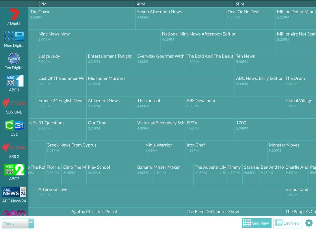 JiMBO TV Guide Screenshot 7