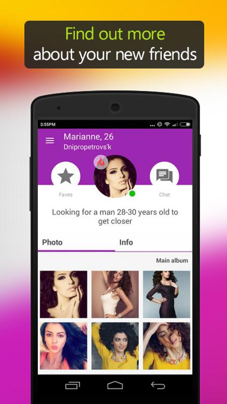Free chat and dating apk