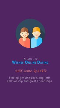 WISHES ONLINE DATING poster
