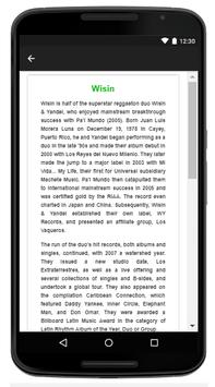 Wisin - Music And Lyrics apk screenshot