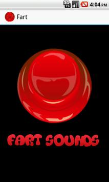 Fart Sounds Button poster