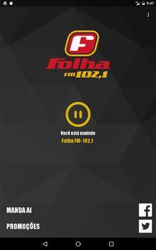 Folha FM apk screenshot
