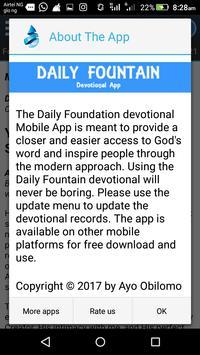 Daily Fountain 2017 apk screenshot