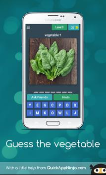 Guess the vegetable apk screenshot