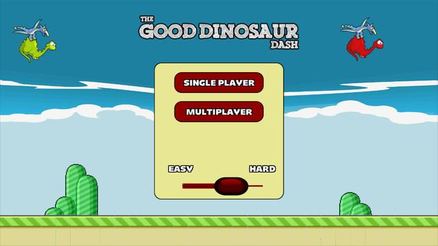 The Good Dinosaur Dash poster