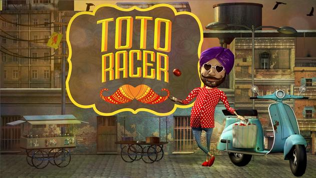 Toto Racer Affiche