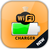 wireless charger prank icon
