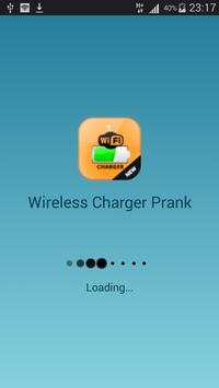 wireless charger prank poster
