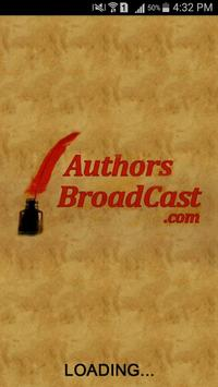 Authors Broadcast App poster