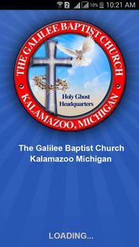 Galilee Baptist Church App poster