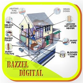 sketch wiring diagram of dwelling house poster