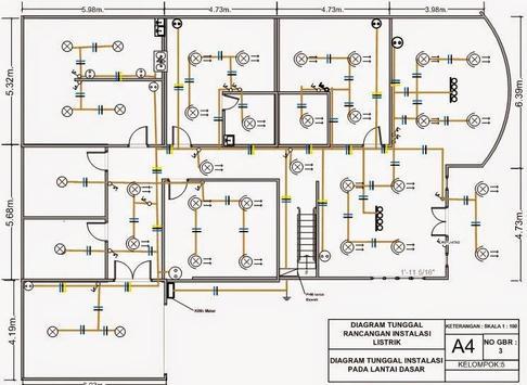 sketch wiring diagram of dwelling house screenshot 1