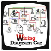 Wiring Diagram Car icon