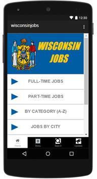 Wisconsin Jobs poster