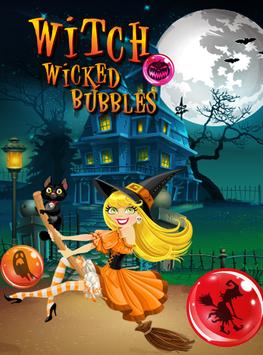 Witch Wicked Bubbles poster