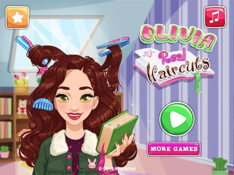 Olivia's Real Haircuts poster